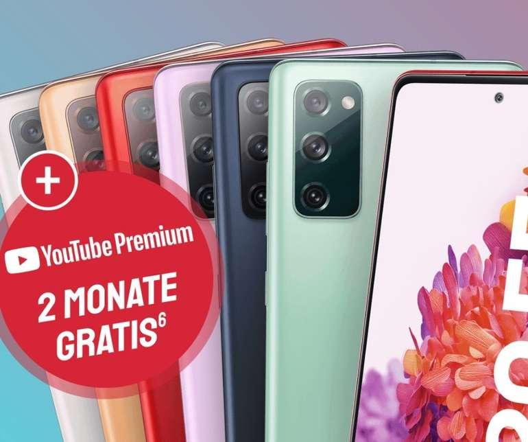 Samsung Galaxy S20 FE mit 128GB Speicher (4,95€) + o2 Free M (20GB LTE / 5G, 300 Mbit/s, VoLTE, WLAN Call) für 23,99€ mtl.