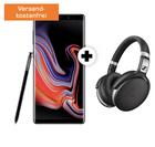 Galaxy Note 9 + Sennheiser HD 4.50 (49€) + Vodafone Allnet (8GB) für 29,99€ mtl.