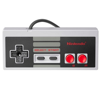 Nintendo Classic NES Controller für 9,99€ inkl. Prime Versand (statt 15€)