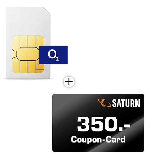 Junge Leute: o2 Free L Boost Allnet Flatrate mit 60GB LTE Max für 29,99€ mtl. + 350€ Saturn Gutschein