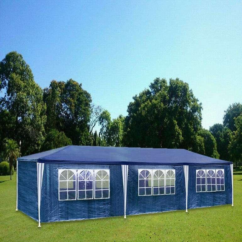 Pavillon 3x9m (komplett verschließbar) für 61,99€ inkl. Versand (statt 85€)