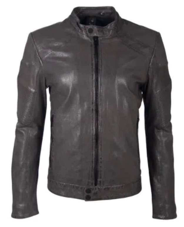 Gipsy G2bargot Herren Lederjacke im Biker-Look für 94,99€ inkl. Versand (statt 120€)