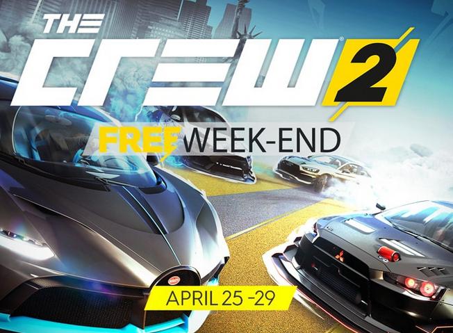 The Crew 2 (Uplay/PC/PS4/Xbox One) bis zum 29.4.2019 kostenlos spielen