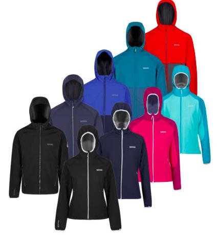 RegattaSoftshelljacke Arec II fürSie und Ihn verschiedene Farben für 24,99€