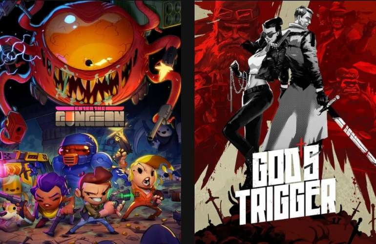 Epic Games Store: Enter the Gungeon & God's Trigger kostenlos herunterladen