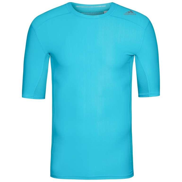 Adidas Techfit Chill Herren Kompressions Shirt, 2 Farben für 13,94€ (statt 19€)