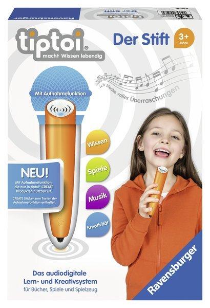 Ravensburger tiptoi - der Stift mit Aufnahmefunktion für 25€ inkl. Versand (statt 30€)