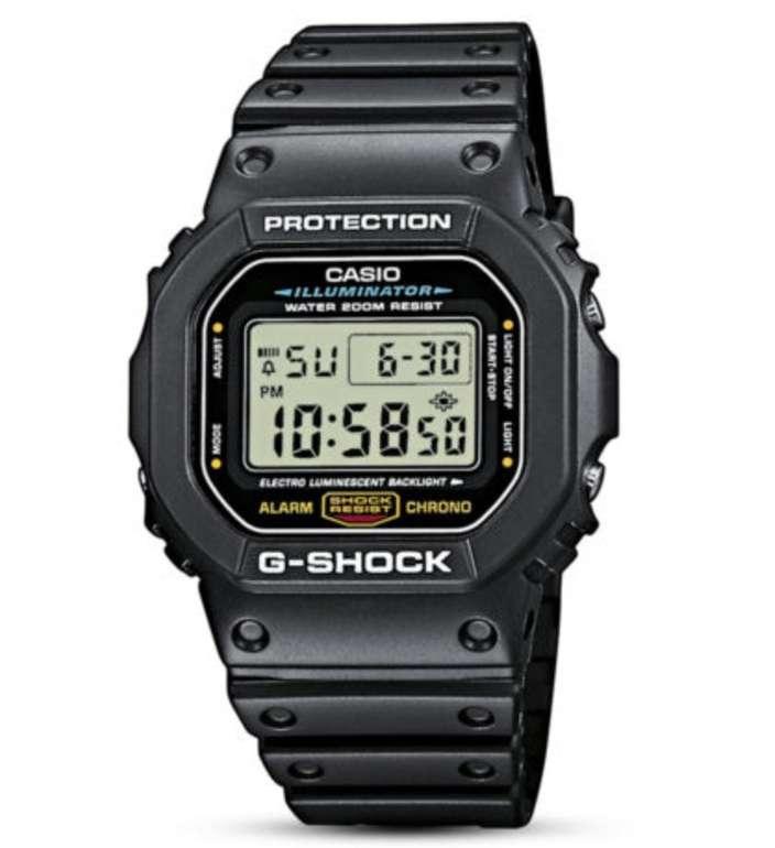 Casio G-Shock DW-5600E-1VER - Digitale Armbanduhr für 54,05€ inkl. Versand (statt 70€)