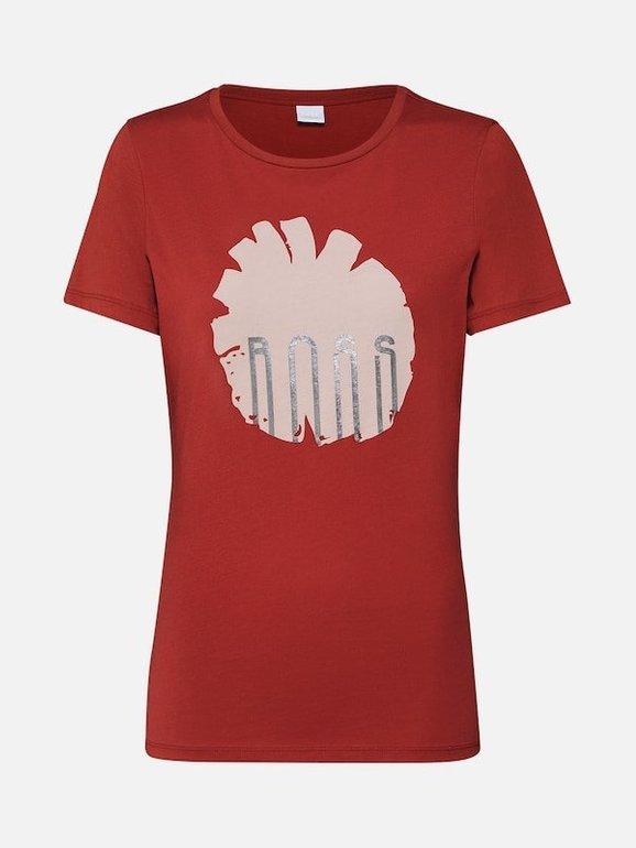 Boss Damen Shirt 'Teblossom' in rot für 20,21€ inkl. Versand (statt 28€)