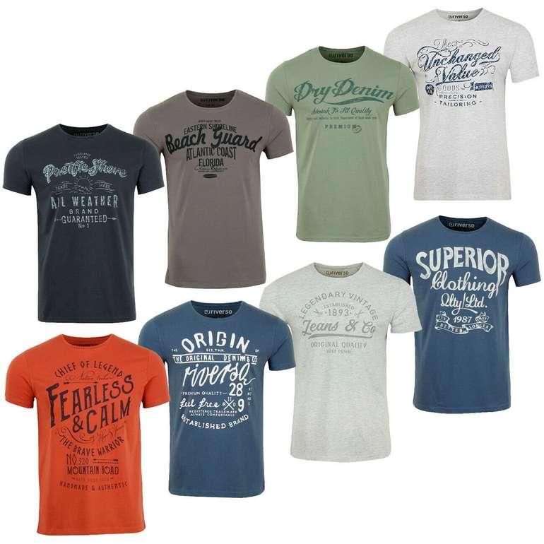 Riverso Herren T-Shirt RIVLeon für je 10,95€ inkl. Versand (statt 15€)