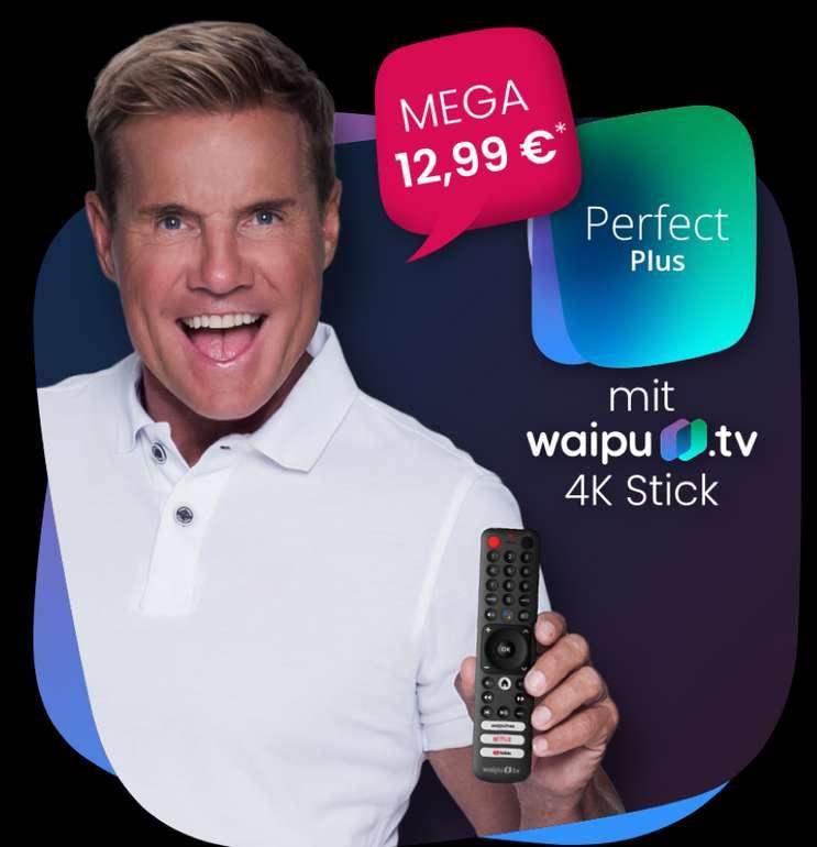 Waipu-TV: 12 Monate Perfect Plus + Waipu-TV Stick für 12,99€ mtl. (statt 16€)