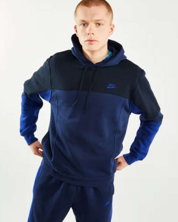 Nike Club Over The Head Herren Hoodies in blau für 39,99€inkl. Versand (statt 60€)