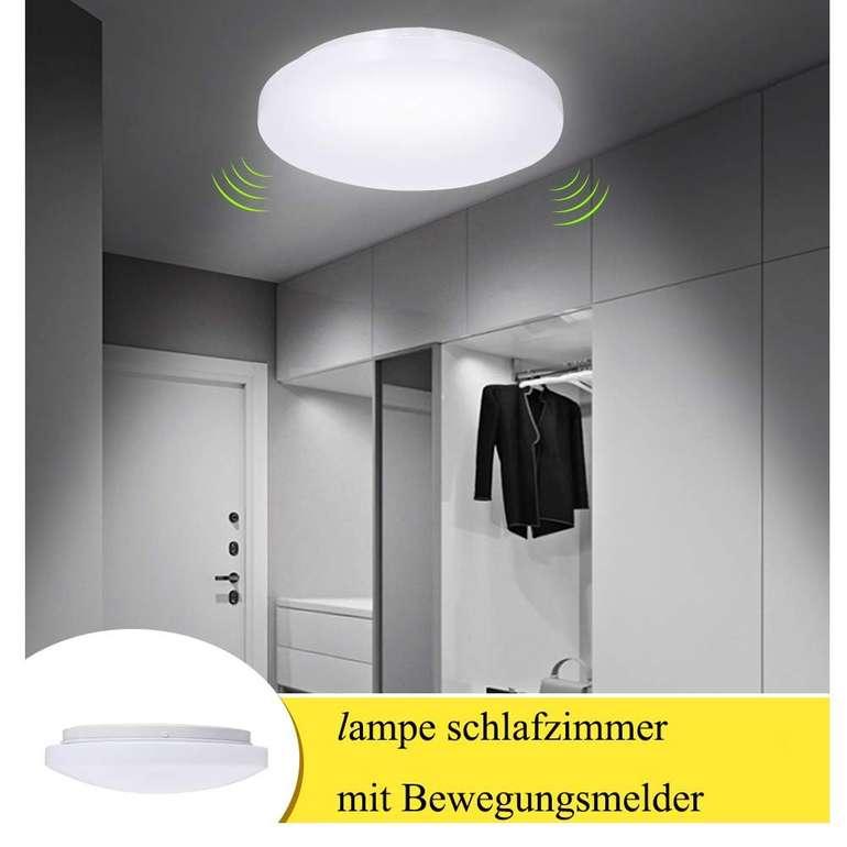 Ltteny 12W LED Deckenlampe mit Bewegungsmelder für 19,99€ inkl. Versand (statt 40€)