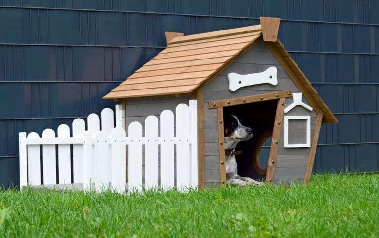 Dobar Outdoor-Hundehütte-3