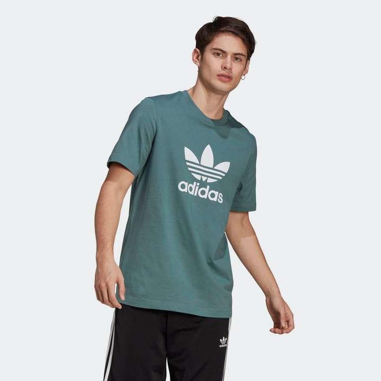 Adidas Adicolor Classics Trefoil T-Shirt in Grün für 12,32€ inkl. Versand (statt 19€) - Creators Club
