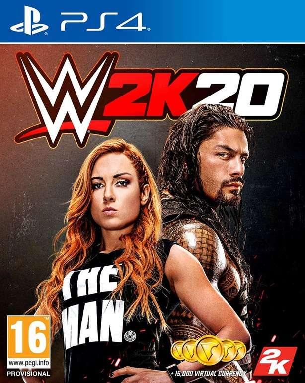 WWE 2K20 (Playstation 4) für 27,80€ inkl. VSK (statt 33€)