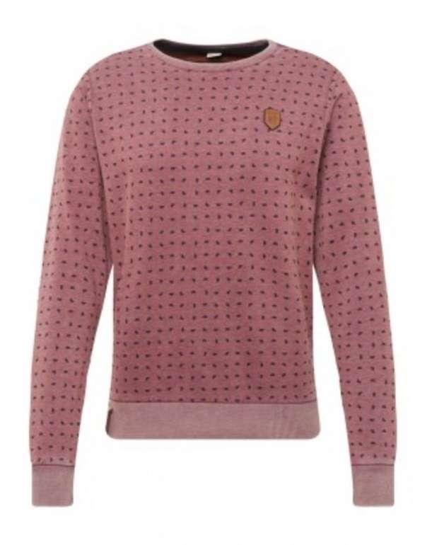 naketano Herren Sweatshirt in pastellrot / schwarz für 11,81€ inkl. Versand