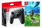 Nintendo Switch Pro Controller + Zelda: Breath of the Wild für 89€ (statt 114€)
