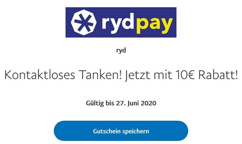Ryd Pay PayPal Rabatt