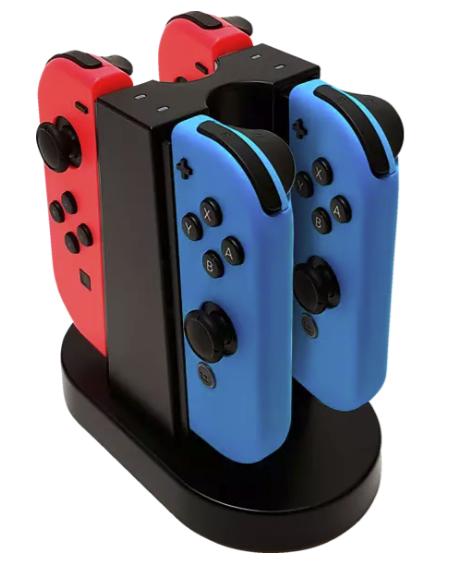 BigBen Quad Ladestation für die Nintendo Switch in Schwarz für 15,98€inkl. Versand (statt 19€)