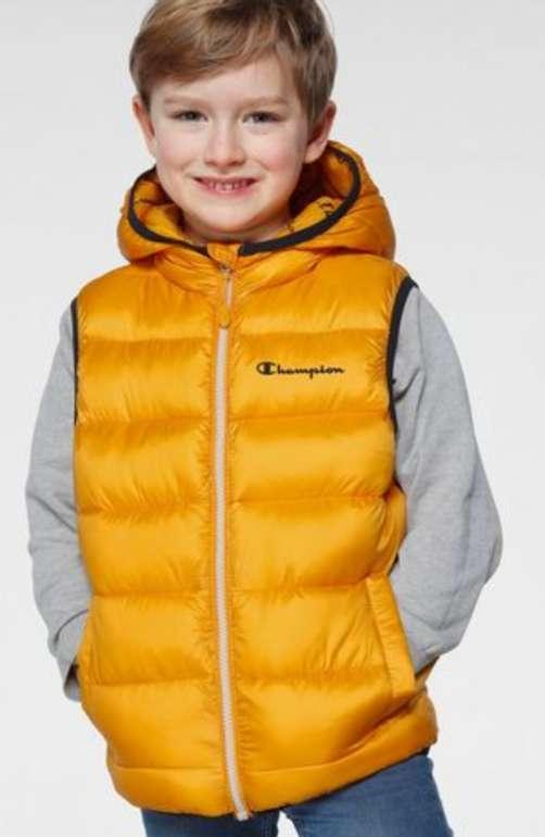 """Champion Steppweste """"VEST"""" in gelb für Kinder zu 27,88€ inkl. Versand (statt 51€)"""