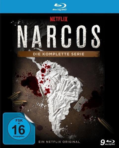 Narcos - Die komplette Serie (Staffel 1 - 3) [9 Blu-rays] für 48,71€ inkl. Versand (statt 58€)