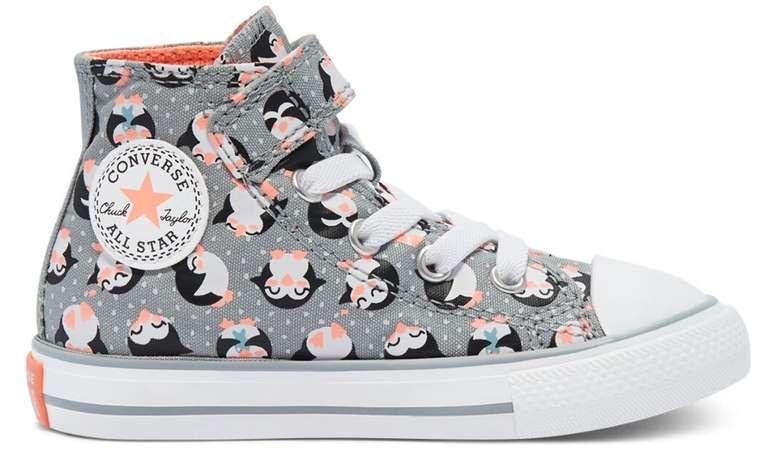 Converse Kinderschuhe Sale mit bis -50% + 15% Extra - z.B. Tundra Print Chuck Taylor All Star High Top für 29,74€