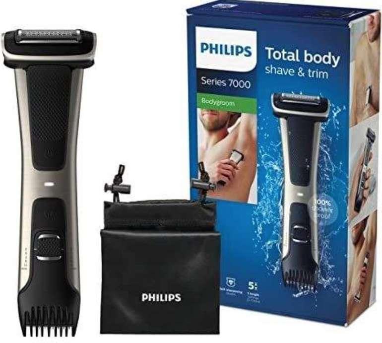 Philips BG7025/15 Bodygroom Series 7000 mit integriertem Kammaufsatz (3 bis 11 mm) für 48,99€ (statt 59€)