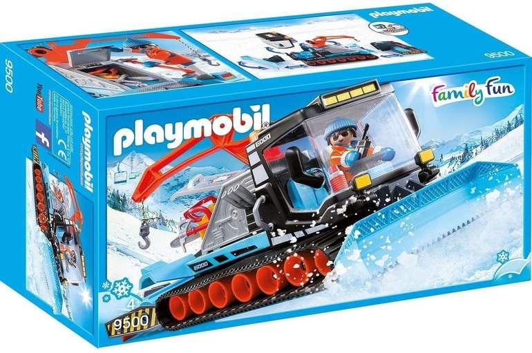 Playmobil Family Fun - Pistenraupe (9500) für 16,39€ inkl. Versand (statt 20€)