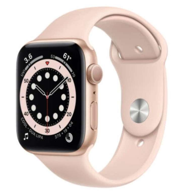 Apple Watch Series 6 (GPS) 40mm Aluminium mit Sportarmband für 364,50€ (statt 399€)