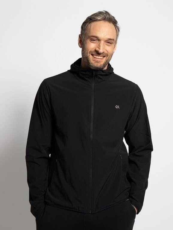 Calvin Klein Sportjacke in Schwarz für 36,01€ inkl. Versand (statt 66€)