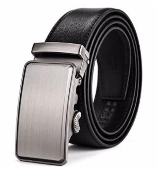 Boyou Herren Ledergürtel mit automatischer Gürtelschnalle für 8,99€ (statt 18€)