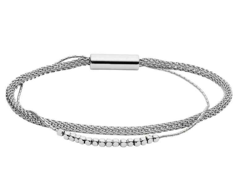 Fossil Damen Armband Multi Strand mit Magnetverschluss (JA7030040) für 24,50€ (statt 32€)