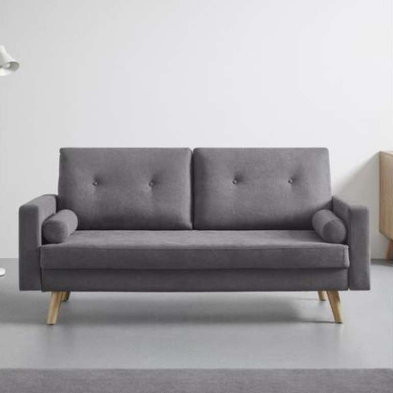 "Bessagi Home Sofa ""Alva"" in grau (181 / 82,5 / 84 cm) für 139,30€ inkl. Versand (statt 199€)"