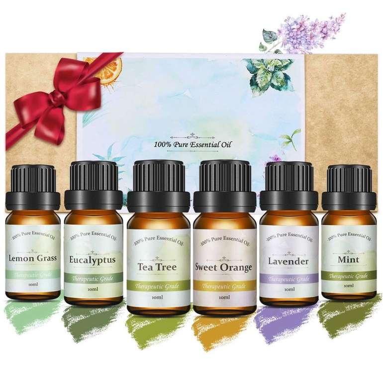 Janolia ätherische Öle im Geschenkset (6 x 10 ml) für 8,19€ inkl. Prime Versand (statt 12€)