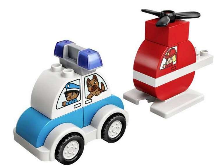 Lego® Duplo Set - Feuerwehrhubschrauber und Polizeiauto (10957) für 6,99€inkl. Versand (statt 11€) - Thalia Club!