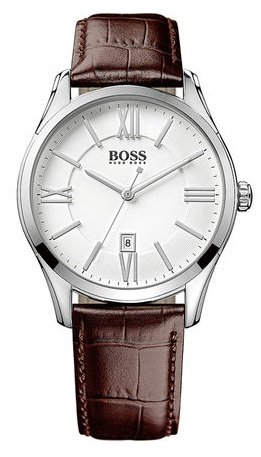"Boss - Herrenuhr Ambassador Round ""1513021"" für 123,10€ inkl. VSK (statt 139€)"