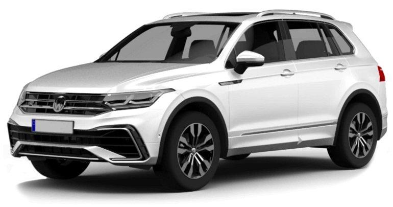 Privatleasing: Volkswagen Tiguan Life Plug-In Hybrid für 191€ monatlich - LF: 0,44