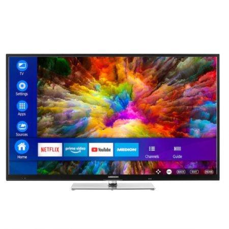 """Medion Life X14305 - 43"""" Smart TV (4K Ultra HD, HDR) für 279,95€ inkl. VSK"""