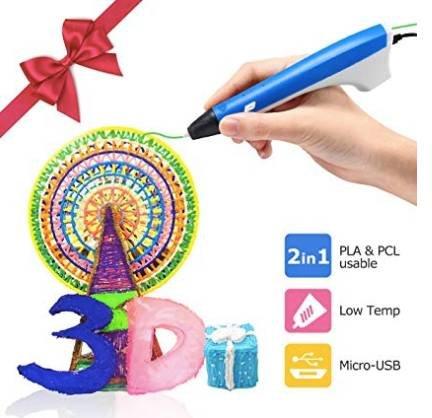 AiLink 3D Drucker Stift Set für 16,40€ inkl. Prime Versand (statt 40€)
