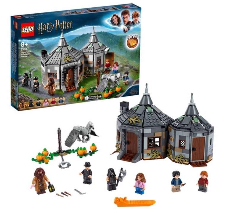 Lego Harry Potter - Hagrids Hütte: Seidenschnabels Rettung (75947) für 36,28€ (statt 52€)