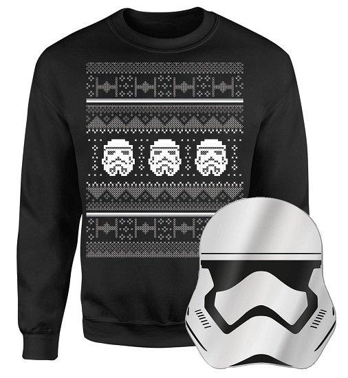 Star Wars Stormtrooper Weihnachtspullover (S - 5XL) + Spiegel für 23,48€ inkl. VSK