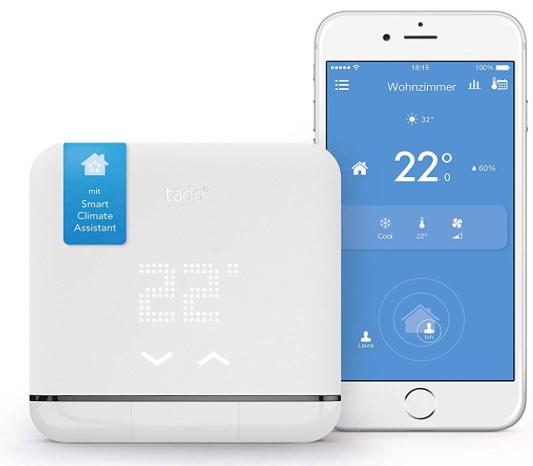 Tado Smart AC Control V2 (Climate Assistant für Klimaanlagen, Alexa komp.) 99€