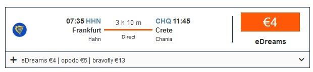 Hinflug nach Kreta 2