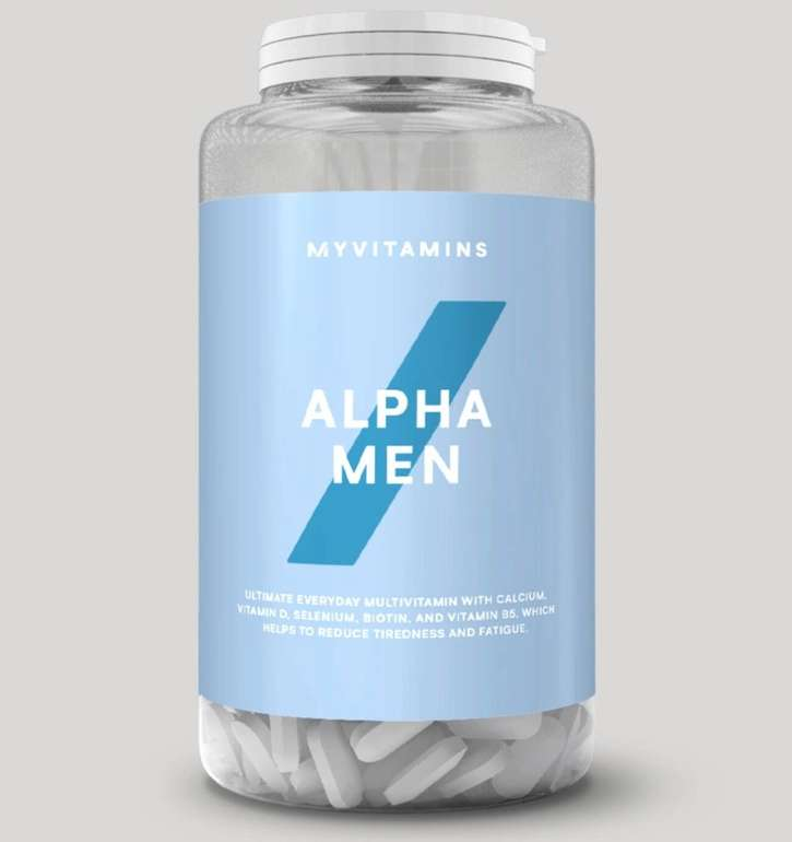 240er Pack Myvitamins Alpha Men Super Multi Vitamin Tabletten für 13,18€ inkl. Versand (statt 23€)