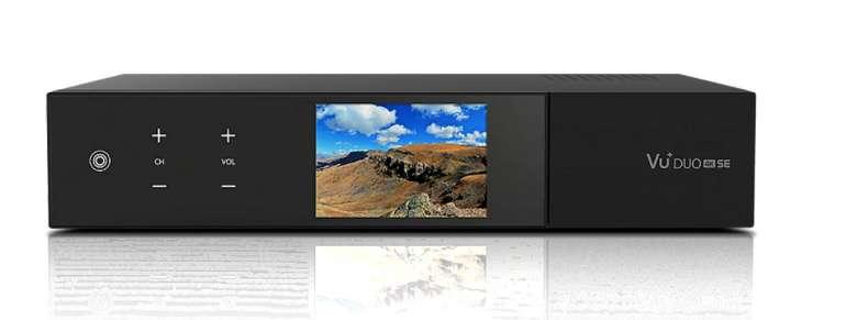 VU+ Duo 4K SE 1x DVB-S2X FBC (VR ready, Linux Receiver, UHD) für 333€ inkl. Versand (statt 364€)