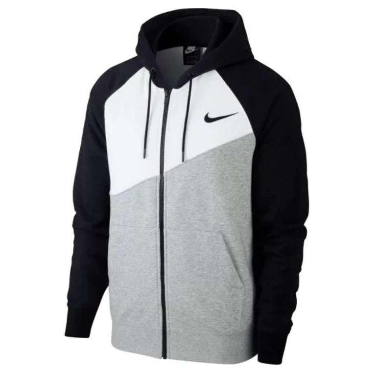Nike Swoosh Kapuzenjacke bzw. Hoody (versch. Farben) für je 48,70€ (statt 59€)