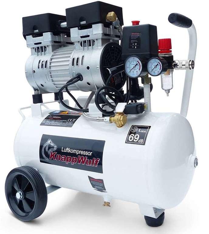"""Flüster Kompressor KnappWulf """"KW1024"""" (24L, 750W, 69dB) für 179€ (statt 239€)"""