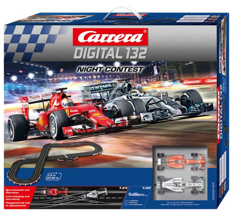 """Carrera Autorennbahn """"Digital 132 - Night Contest"""" für 143,99€ (statt 185€)"""