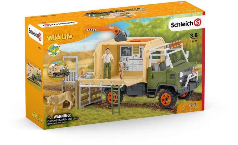 Schleich - Großer Truck Tierrettung (42475) für 29,99€ inkl. Versand (statt 37€)